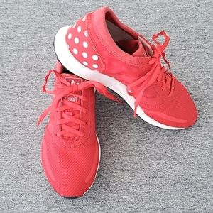 Adidas Los Angeles Polka Dot Red Trainers
